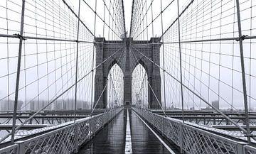 Brooklyn Bridge  New York City van Marcel Kerdijk