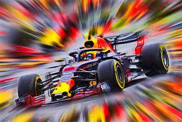Max Verstappen - Rennfahrer van Jean-Louis Glineur alias DeVerviers