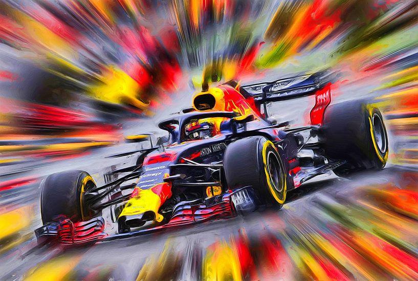 Max Verstappen - Rennfahrer von Jean-Louis Glineur alias DeVerviers