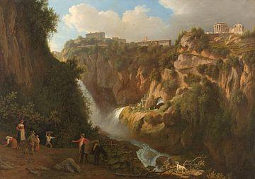 Der Wasserfall von Tivoli, Abraham Teerlink