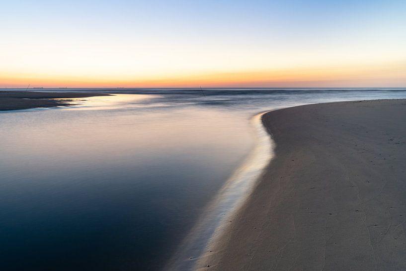 Zonsondergang bij Katwijk aan Zee van Martijn Joosse