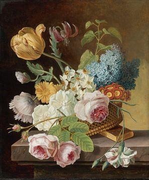 Vase mit Blumen - Jan Frans Van Dael von Meesterlijcke Meesters