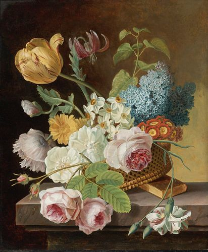Vaas met bloemen, Jan Frans Van Dael van Meesterlijcke Meesters