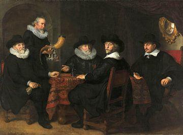 Vier Torhüter der Kloveniersdoelen, Govert Flinck