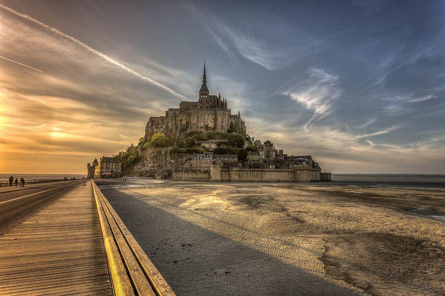 Le Mont Saint MichelLe Mont Saint Michel, Normandië van Rene Ladenius
