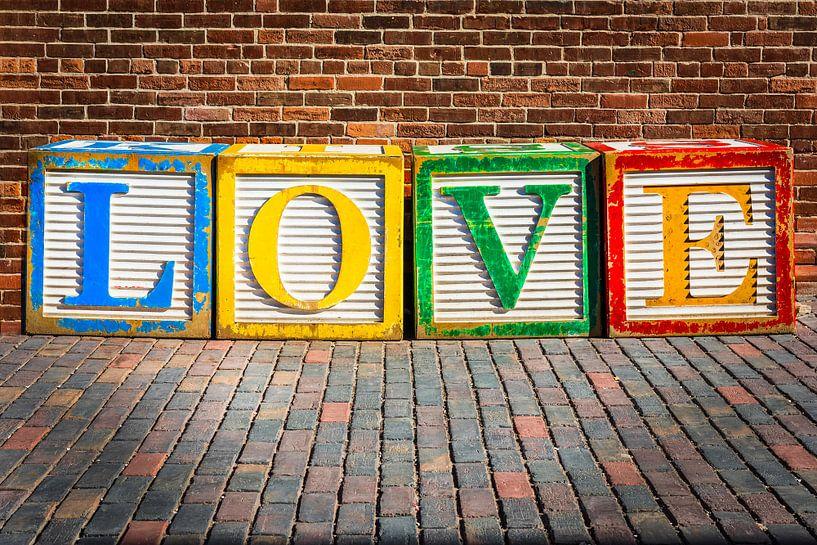 Cubes d'amour sur Jan van Dasler