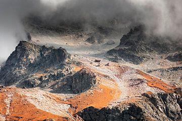 Alpen in de herfst van Ko Hoogesteger