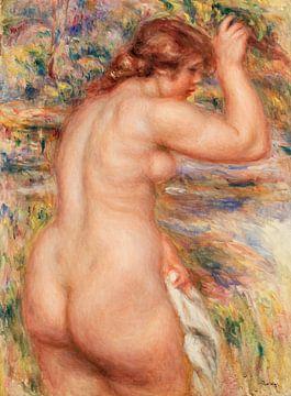 Akt in einer Landschaft, Renoir (1917) von Atelier Liesjes