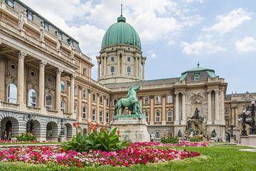 Burcht van Boeda in Boedapest van Hilda Weges