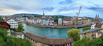 Zurich stadsgezicht panorama sur Dennis van de Water