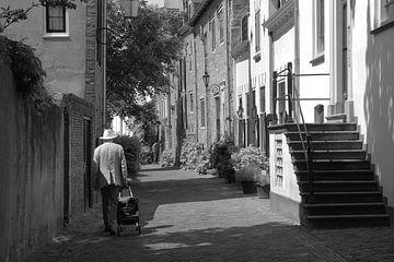 Historisches Amersfoort schwarz und weiß