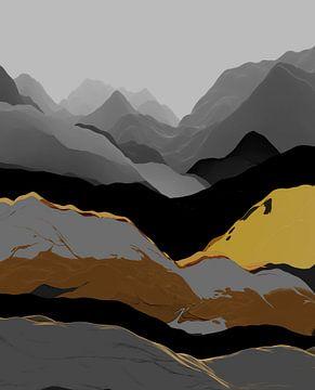 Schöne Berge 3 von Angel Estevez