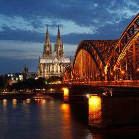 Kölner Dom , Kirche, Dom, Hohenzollernbrücke von Torsten Krüger