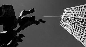De Verwoeste Stad (Rotterdam) von Anna Krasnopeeva