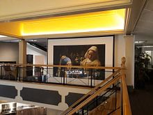 Photo de nos clients: la fille à la perle - La laitière - Johannes Vermeer sur Lia Morcus