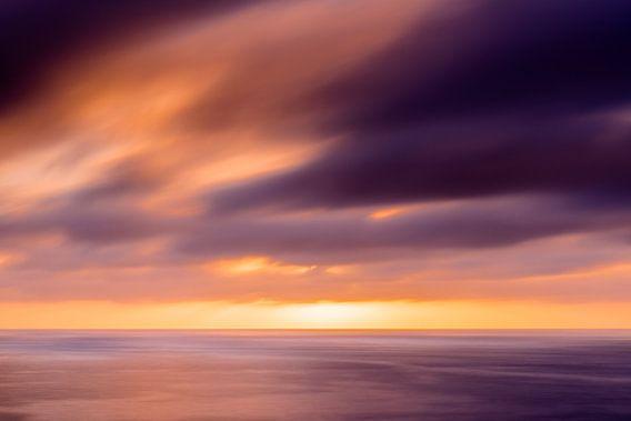 Glowing Sunset van Alejandro Quezada