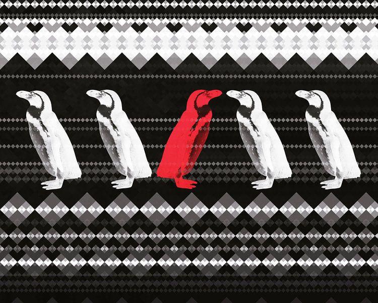 Pinguine van Dagmar Marina