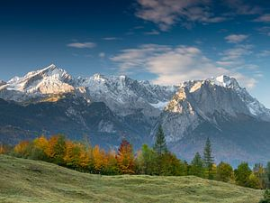 Herbststimmung unterhalb der Zugspitze