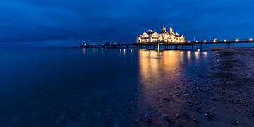 Seabridge Sellin 's avonds van Werner Dieterich