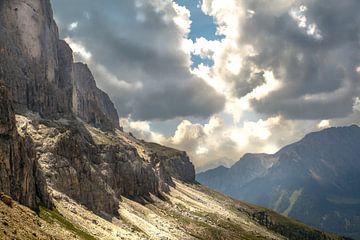Südtirol Dolomiten Rosengarten von Martina Weidner