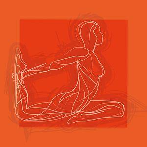 Bewegen is vrijheid en emotie (Oranje) van
