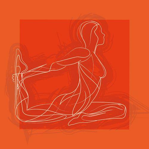 Bewegen is vrijheid en emotie (Oranje)