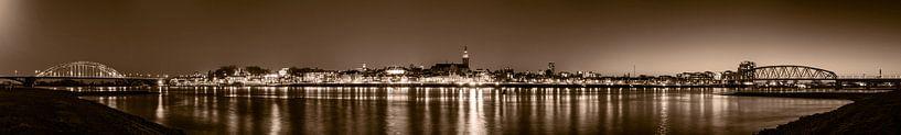 Panoramafoto Nijmegen 2021 van Henk Kersten