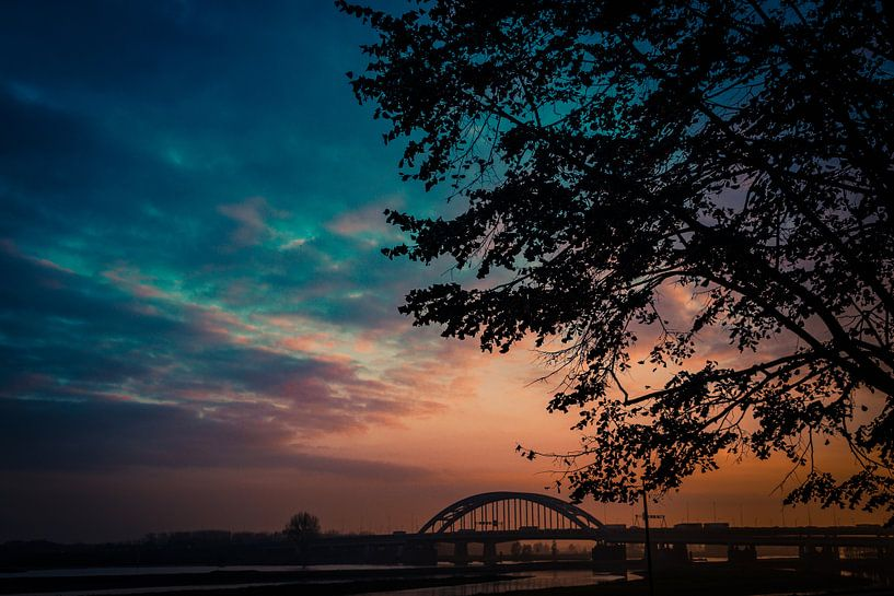 Zonsondergang A2 van Brulin fotografie
