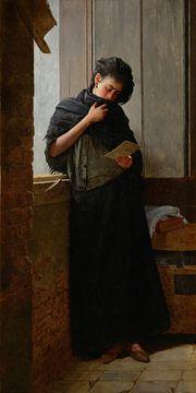 Almeida Júnior, Saudade (désir), 1899 sur Atelier Liesjes