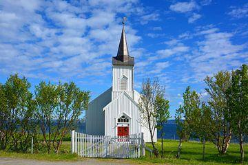 Kistrand Kirke - Die Kirche am Fjord von Gisela Scheffbuch