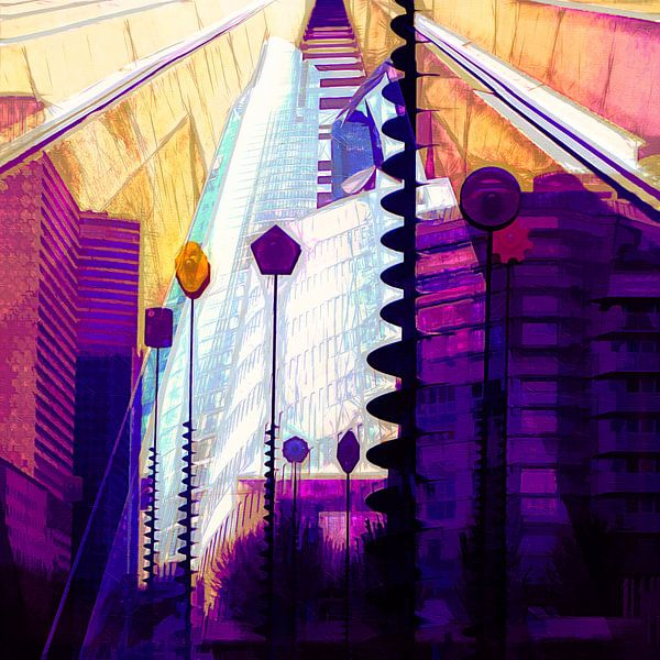 Architektur - La defense, Paris von Andreas Wemmje