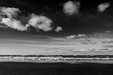 Stille vor dem Sturm an der Nordsee von Linsey Aandewiel-Marijnen