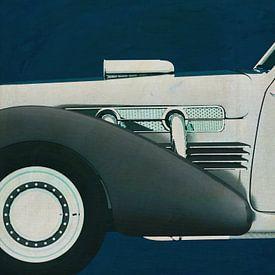 Cord 812 Konzept Roadster Lackierung von Jan Keteleer