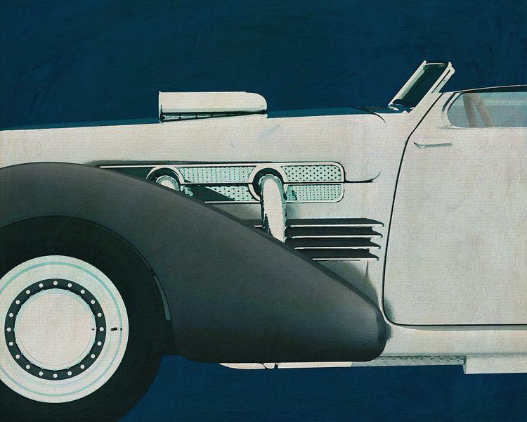 Cord 812 Concept Roadster Painting van Jan Keteleer