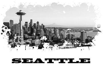 Seattle van Printed Artings