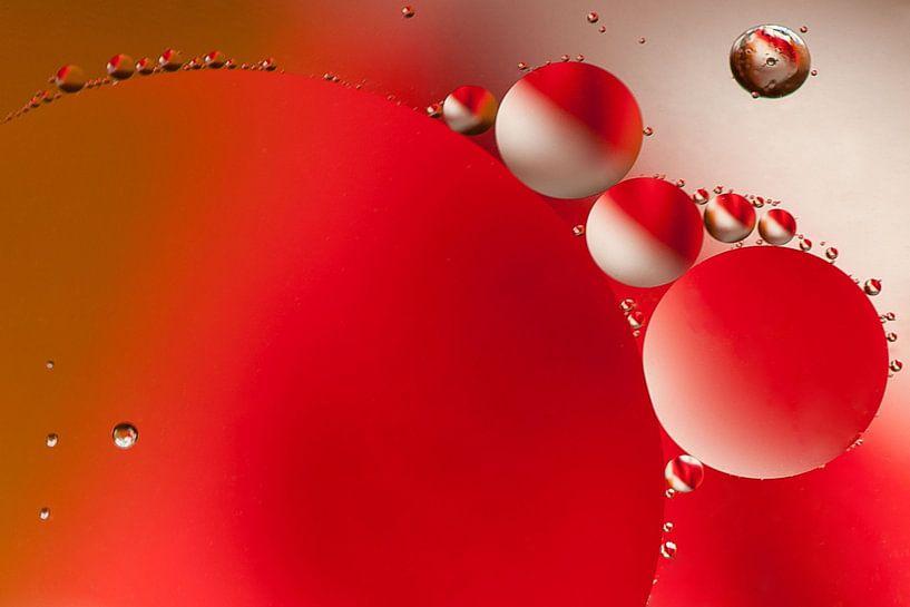 Water en olie 13 van Cees Petter