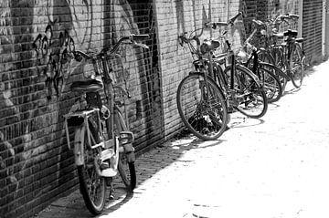 Radfahren gegen eine Wand von Marion Hesseling