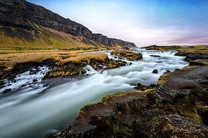 Foss Waterval in IJsland van