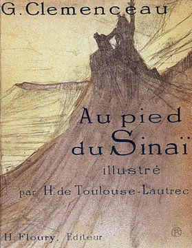 Clemenceau - Am Fuße des Sinai. HENRI DE TOULOUSE-LAUTREC, 1898