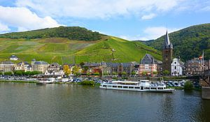 The Moselle in Bernkastel-Kues