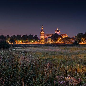 Vue du soir sur Sint Jan sur Ruud Peters