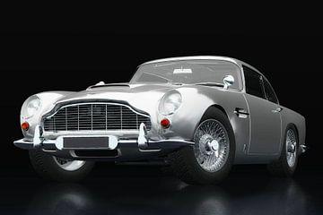 Aston Martin DB5 vue trois quarts