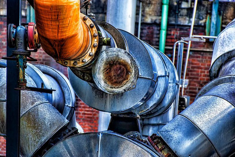 Een chemische machine van Gabsor Fotografie