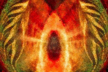 Reis naar het licht - abstract van Max Steinwald