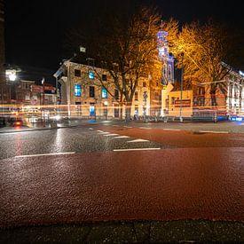 Entree vanaf de stadsbrug in Kampen van Fotografiecor .nl