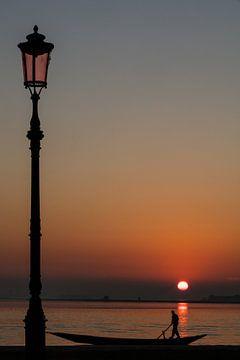 Sonnenuntergang über Venedig von