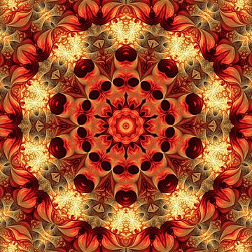 Mandala geluk van Marion Tenbergen
