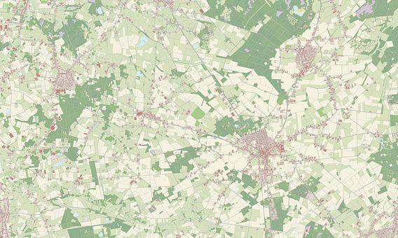 Kaart vanBaarle-Nassau