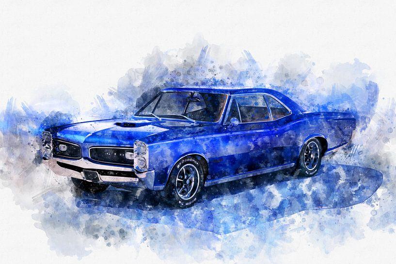 1966 Pontiac GTO von Theodor Decker