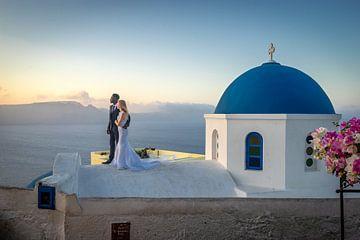 Oia Santorini Bruiloft van Mario Calma